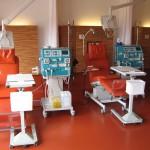 Dialyseliege ComfortLine mit Multifunktionstisch